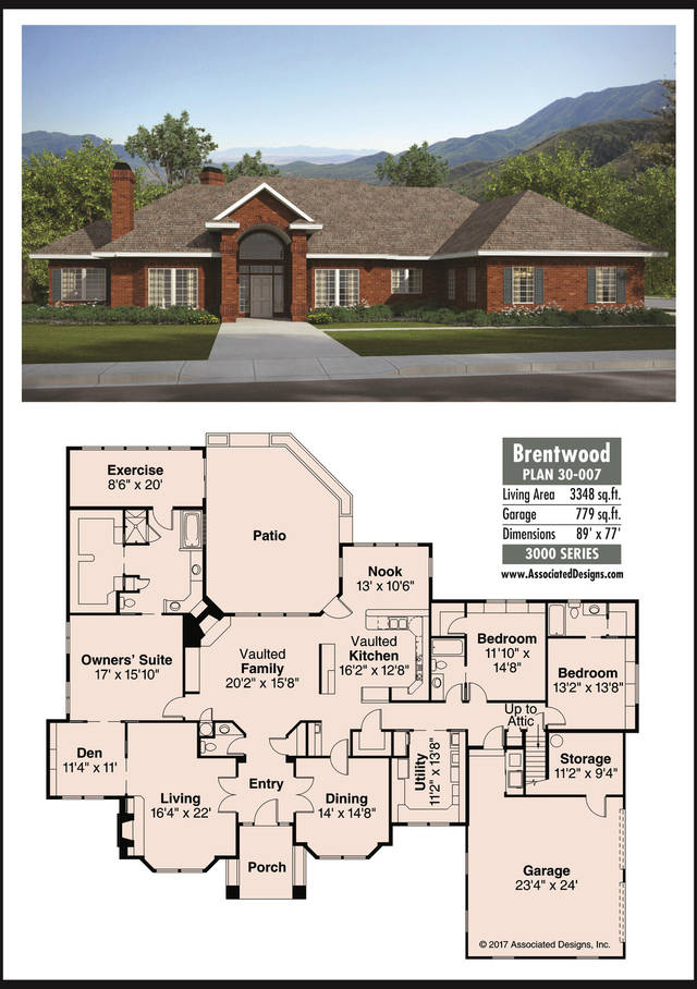 The Oklahoman\'s house plan for Jan. 14, 2017: The Brentwood | News OK