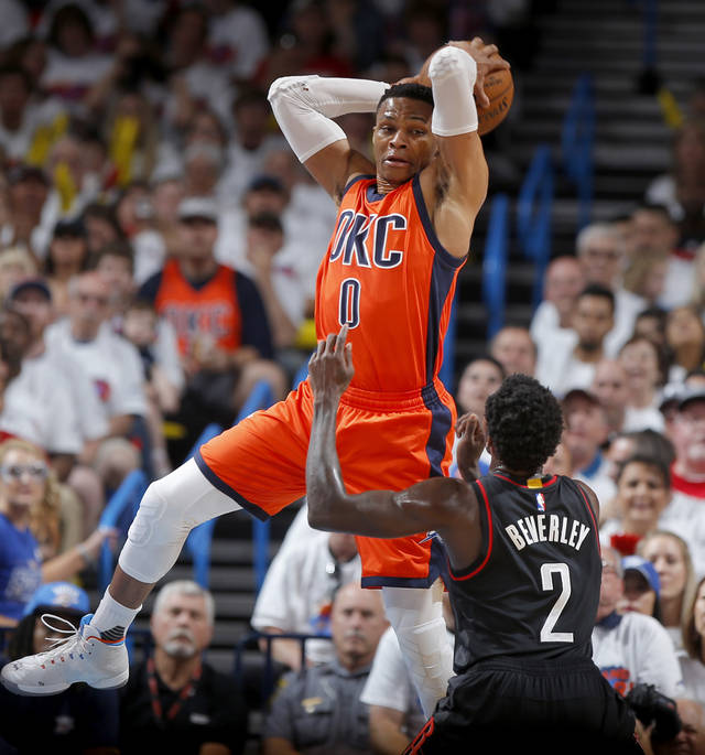 Rockets advance with win over Thunder