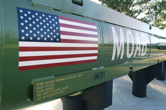 """Mother of all bombs,"" dropped Thursday in Afghanistan likely was partly built at the McAlester Army Ammunition Plant"