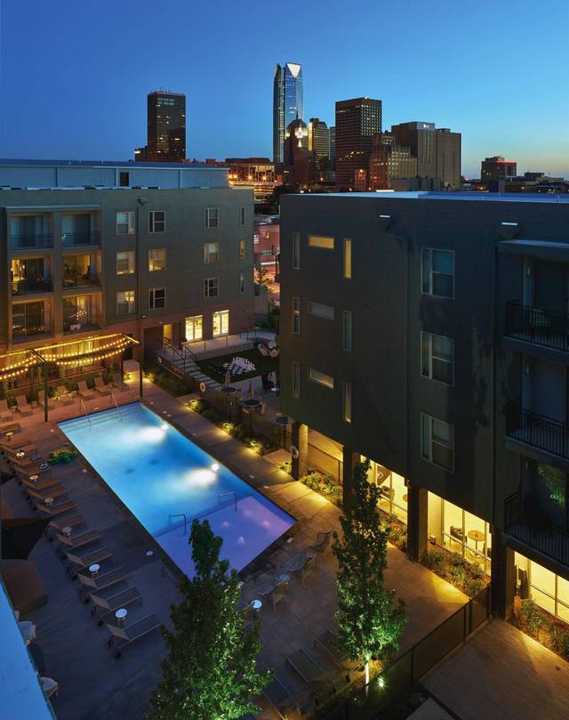 the metropolitan new apartments in downtown oklahoma city catches investor 39 s interest fetches. Black Bedroom Furniture Sets. Home Design Ideas