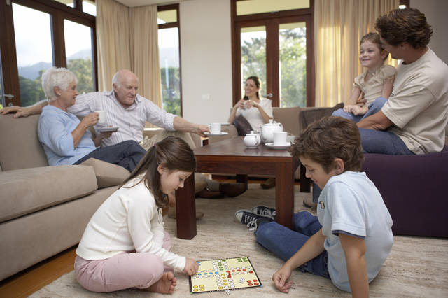 Making decisions about senior living is a family affair. Photo provided.