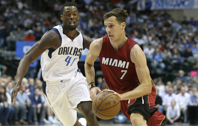 Dragic stars with 33 points in return as Heat hold off Pelicans