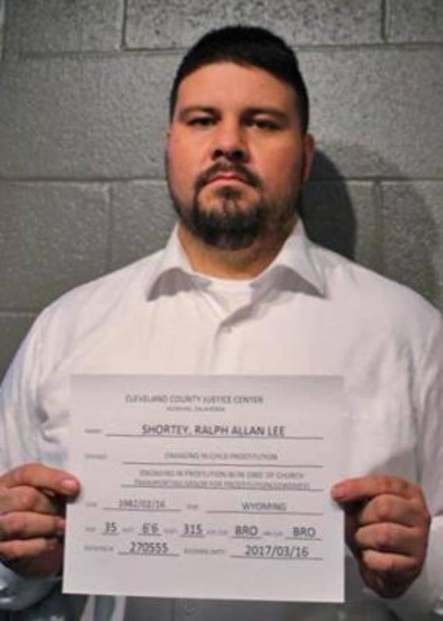 Sen. Ralph Shortey is photographed Thursday at the Cleveland County Detention Center. [Photo Provided]