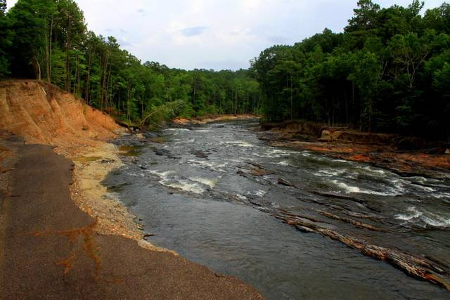 Flood waters have receded on the lower mountain fork river for Broken bow fishing report