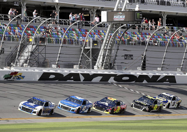 Arizona native on the pole at the Daytona 500
