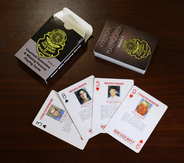 OSBI announces card program to help solve cold cases