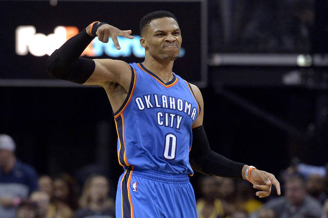 Westbrook sets National Basketball Association triple-double record