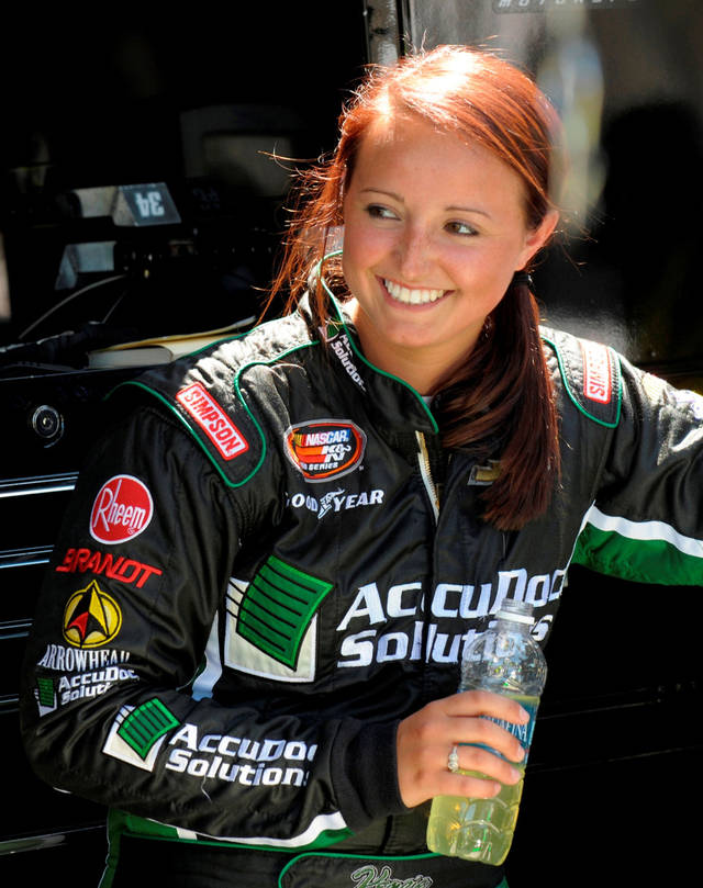 Texas Motor Speedway Kenzie Ruston Other Female Drivers Keeping