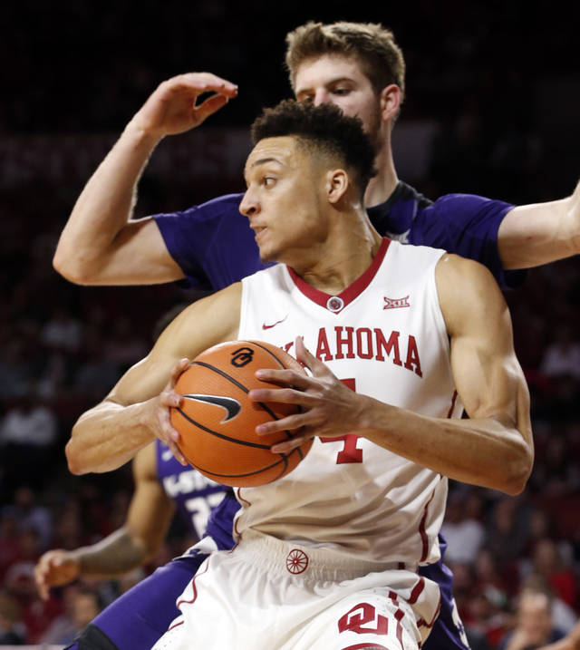 Jamuni McNeace broke into the starting lineup late in the season for the Sooners and figures to play an even bigger role as a senior next year. [PHOTO BY STEVE SISNEY, THE OKLAHOMAN]
