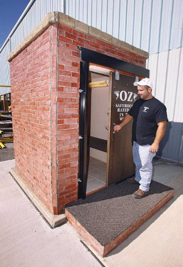 Oz Tornado Shelters : Oz saferooms in del city aims sky high with planned ipo