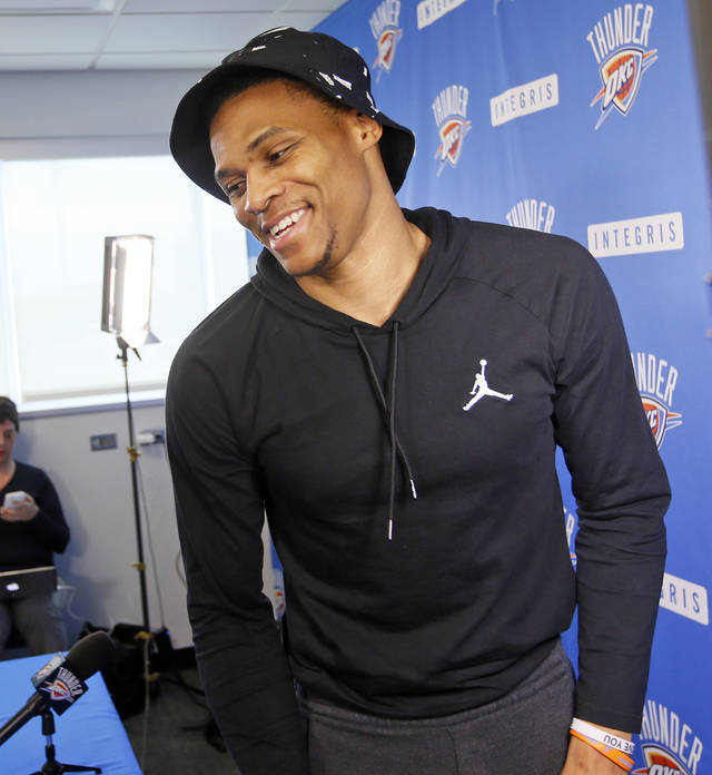 Russell Westbrook: 'Oklahoma City Is The Place That I Wanna Be'