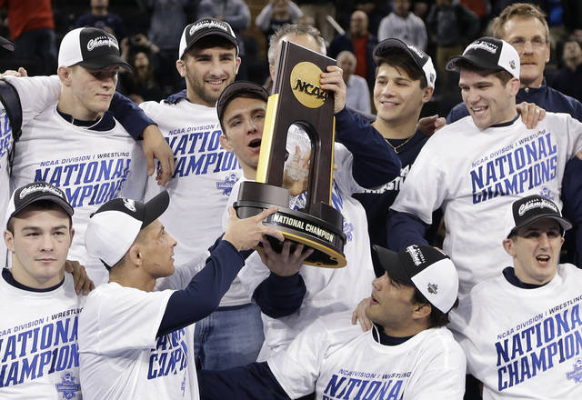 Penn State clinches another NCAA wresting title