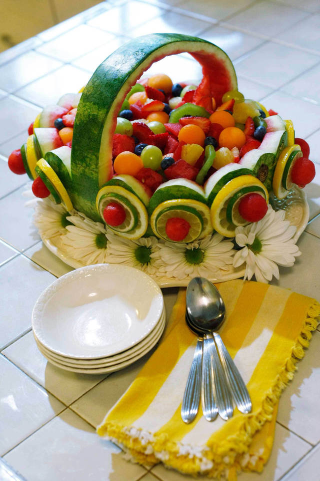 Serving of fruit carve out a place on your summer