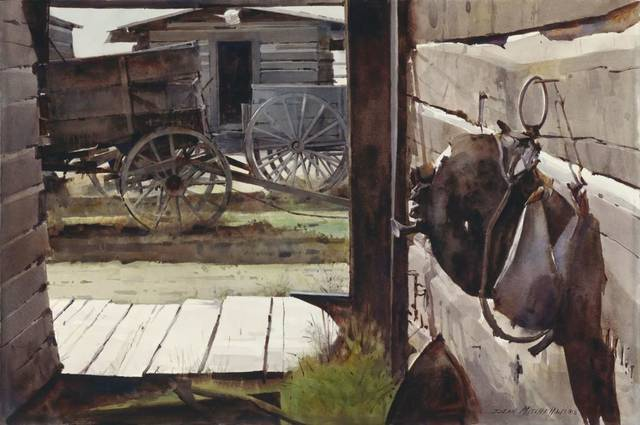 Florida artist s love of rugged outdoors displayed in