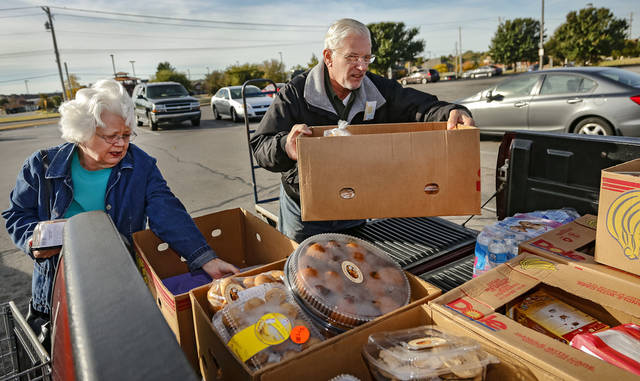 Food banks in oklahoma need more fresh milk news ok for Loaves and fishes food pantry