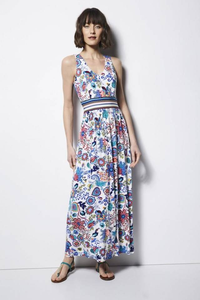 Red maxi dress target collaboration