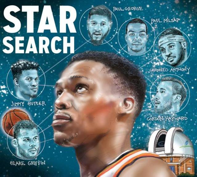 Thunder guard Russell Westbrook has been a one-man wrecking crew this season his first without Kevin Durant. Will the Thunder find a suitable star to play alongside Westbrook